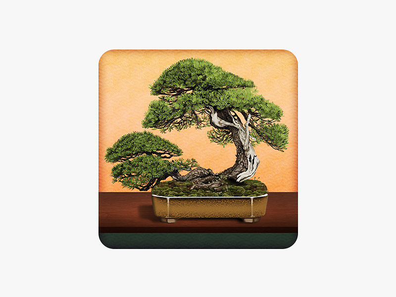 つい、盆栽 (Twit Bonsai) app icon
