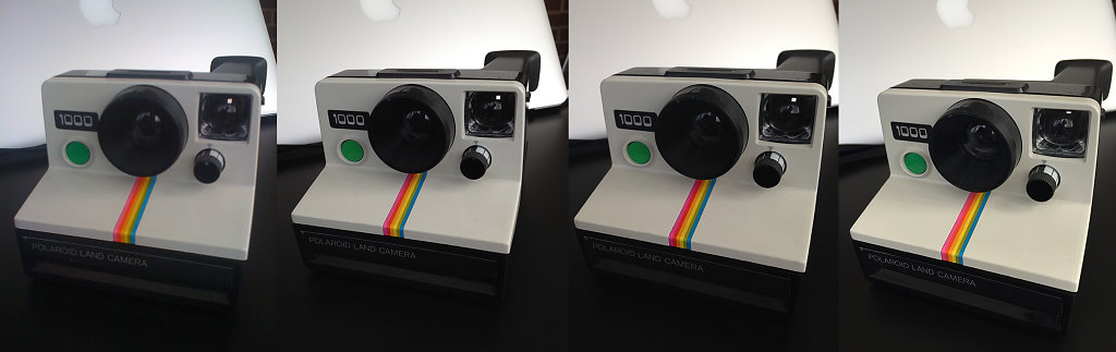 Polaroid Comparison